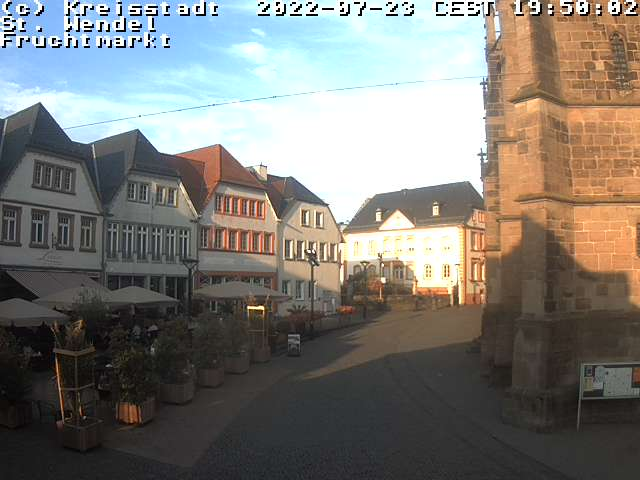 Webcam Fruchtmarkt