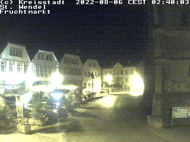 Webcam Fruchtmarkt in St. Wendel