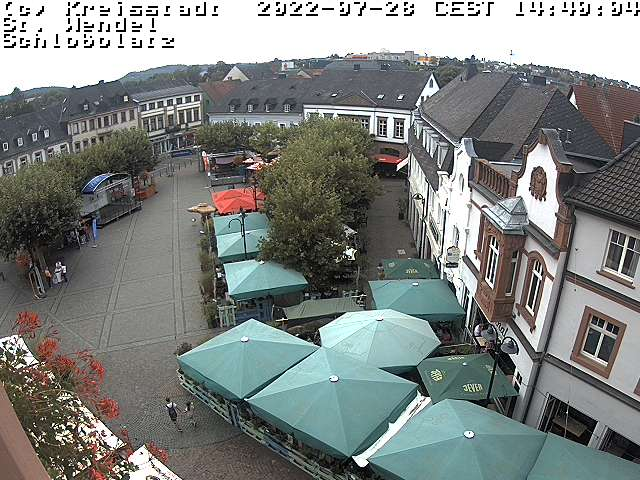 Webcam Churchsplace in St. Wendel