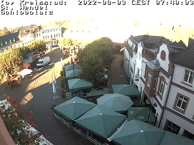 Webcam Schlossplatz