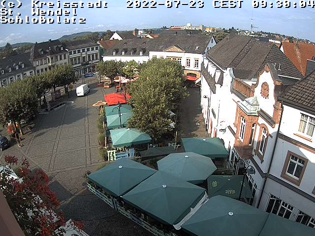 Webcam Schlossplatz in St. Wendel